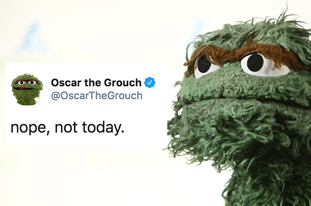 19 Oscar The Grouch Tweets That Are As Hilarious As They Are