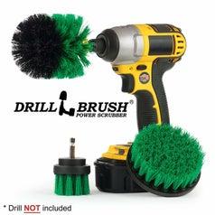 the drill brush attachments