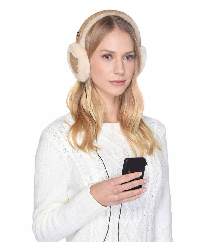 Get a pair from Zappos: classic earmuffs for $63.60 (available in two colors) and all-weather earmuffs for $67.50 (available in four colors).