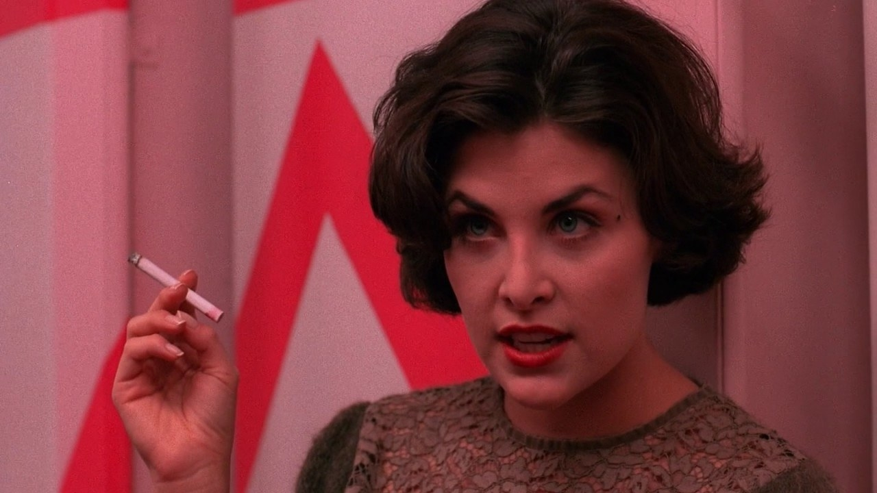Originally, David Lynch wanted to do a  TV show that focused on Audrey from  Twin Peaks — in fact, his original idea for the series became the basis for  Mulholland Drive .