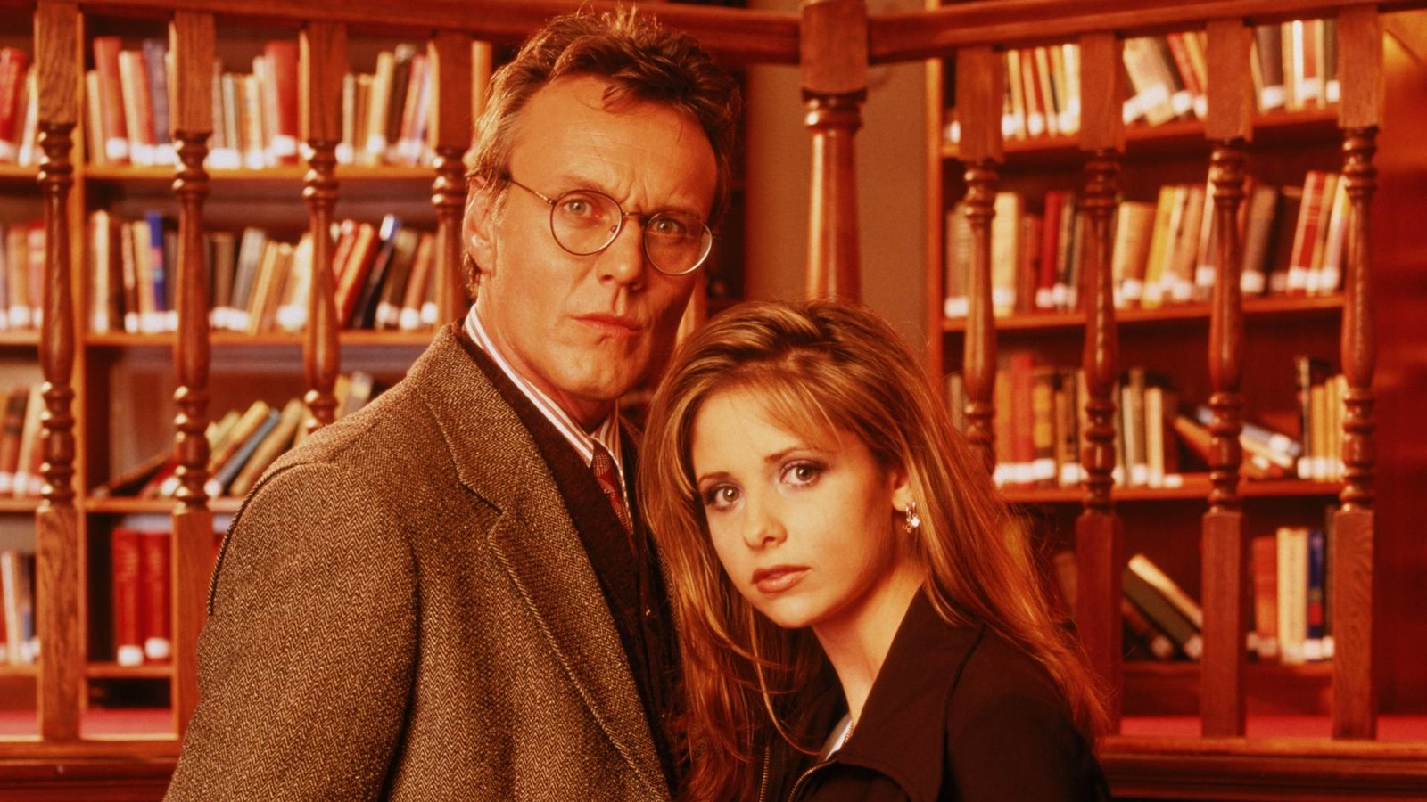 While the TV show was never made, Giles did star in his own comic book series.