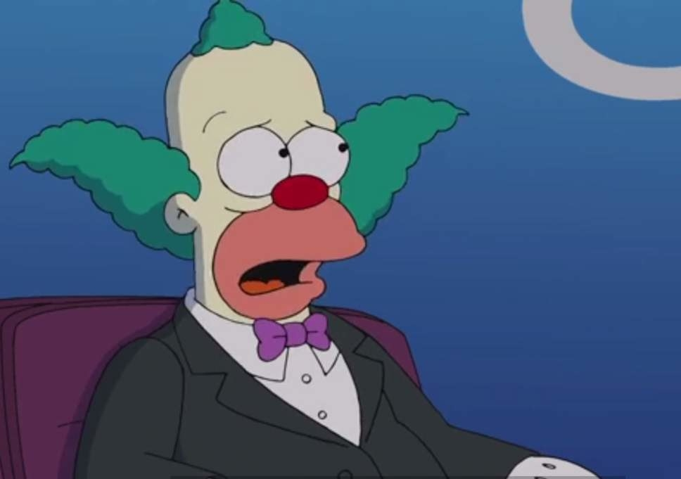 The Simpsons  almost had a  live-action spinoff  that would've focused on Krusty the Clown.