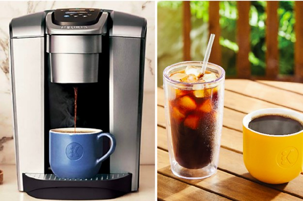 Keurigs New Coffeemaker Has An Iced Coffee Feature And Yup Heaven