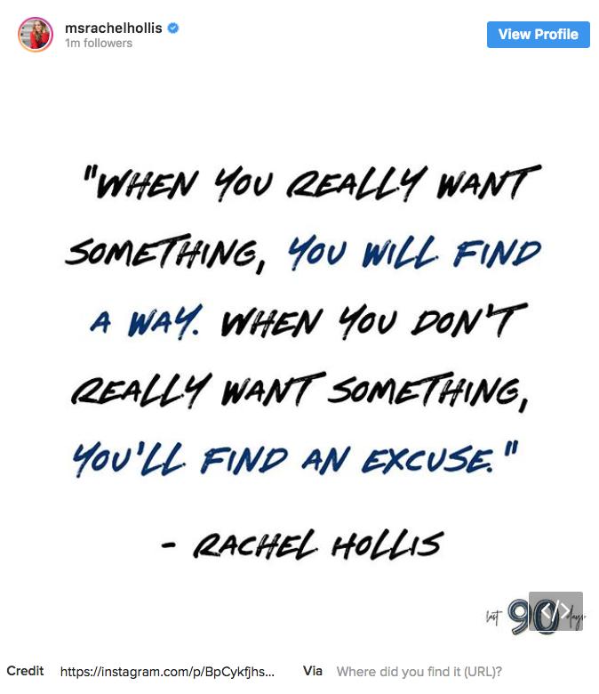 rachel hollis has been accused of plagiarizing quotes on her instagram