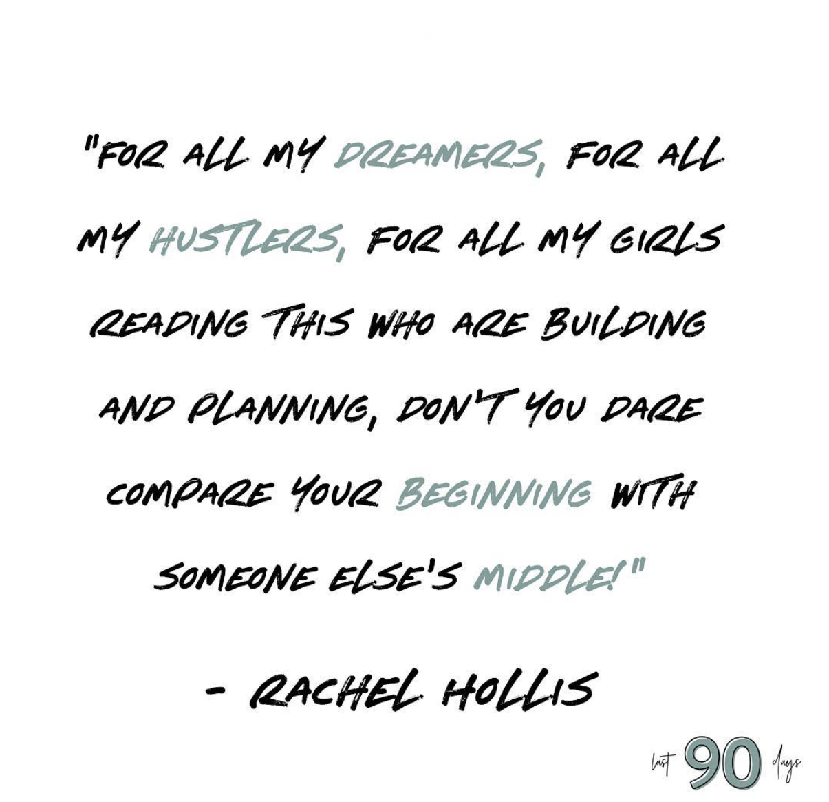 Rachel Hollis Has Been Accused Of Plagiarizing Quotes On Her