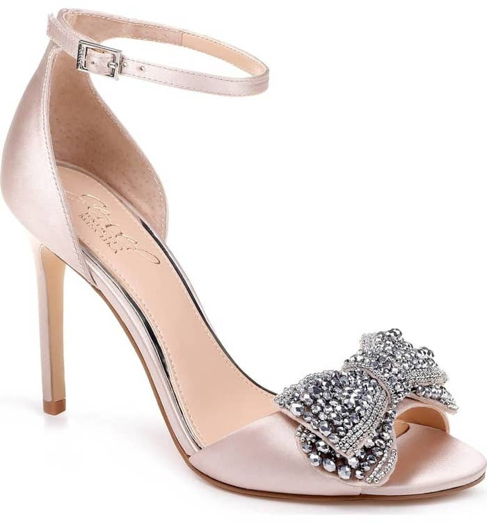 9b222064b3a From the delicate ankle strap and the slim heel to the glimmering bow