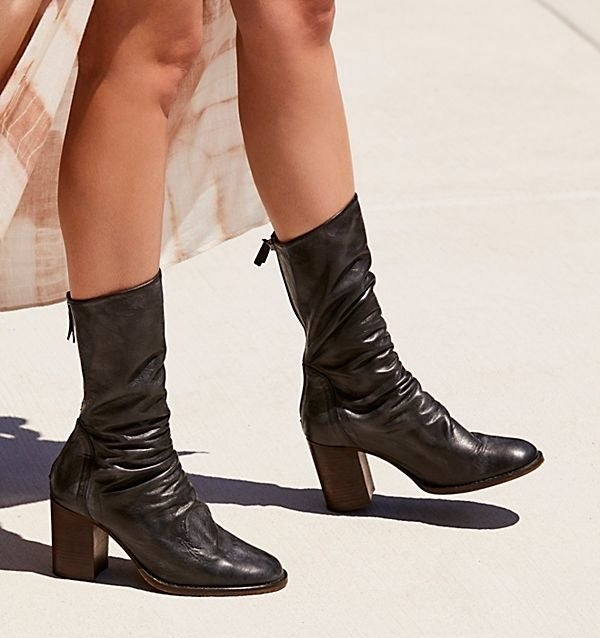 """Promising review: """"I bought these boots during the Black Friday sale had in store and I absolutely fell in love! I wore them right away. The boots are super comfortable that I barely realized I was wearing them all day! I purchased the tan color and they match with just about anything!"""" —taliam123Get them Free People for $198 (available in EU sizes 36–41 and nine colors)."""
