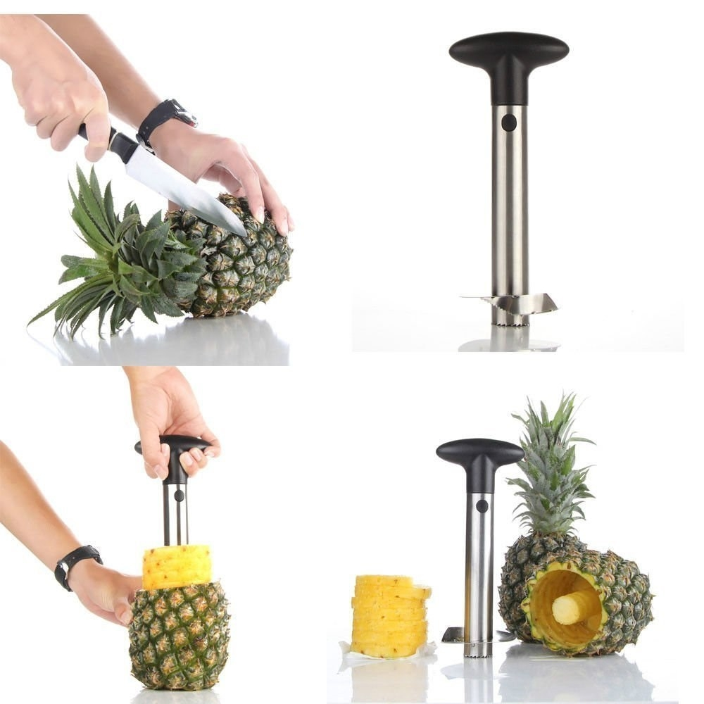 "Get it from Walmart for $6.59 (available in two sizes).Promising review: ""This is the absolute best thing! I'm just sorry it took me soooo long to purchase one! This is a must if you eat pineapple but hate cutting it! Its so easy to use and virtually no juice mess. Very happy with the purchase and 100% would recommend. I was a bit nervous due to the very reasonable price but wow it exceeded my expectations!"" —cristy32483"