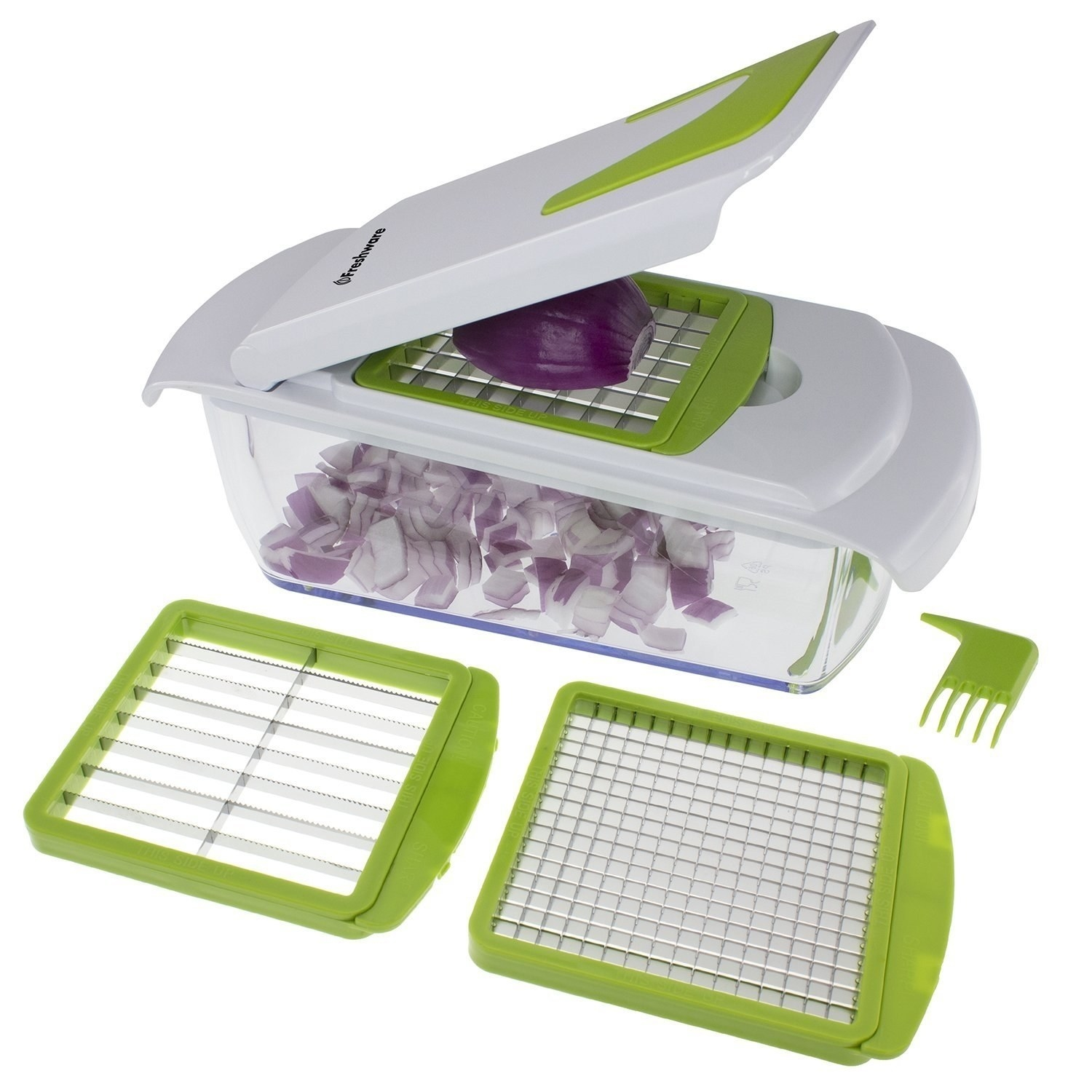 "Get it from Walmart for $16.99 (also available in a seven-in-one chopper for $17.21).Promising review: ""Works great! Exactly like I expected. I bought this mainly for chopping onions. I HATE chopping onions!!! This does a wonderful job!"" —Chris48195"