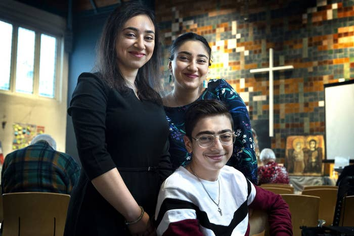Hayarpi, 21, Warduhi, 19, and Seyran, 15, and their parents had fled Armenia for the Netherlands in 2010 for political reasons.