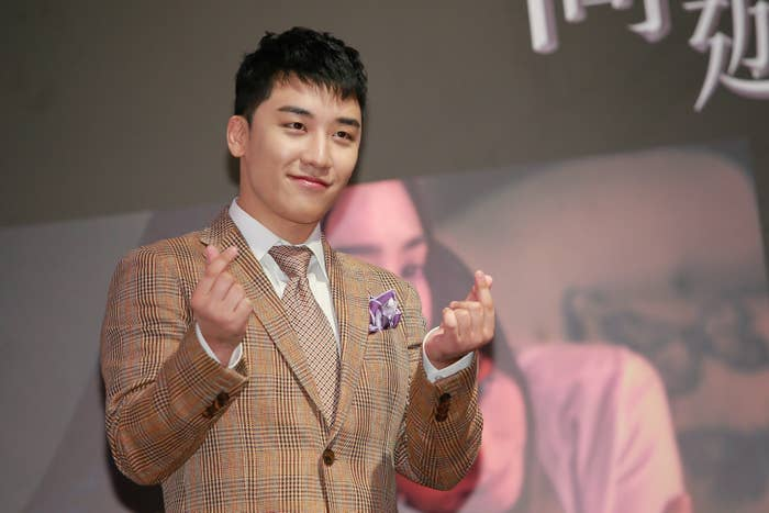 Seungri From BigBang Revealed That K-Pop Idols Exchange Numbers