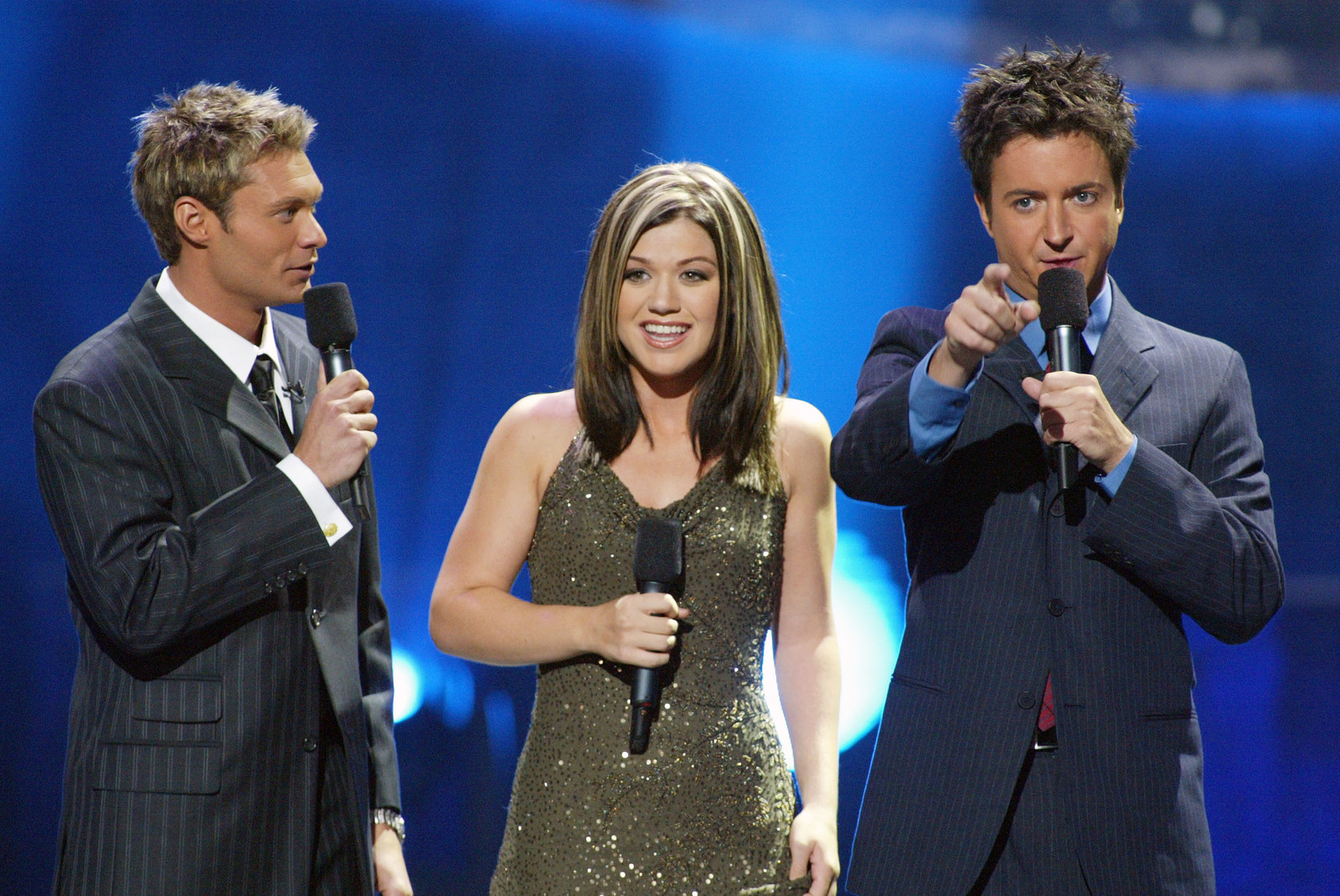 "Brian Dunkleman was the season one co-host of ""American Idol"" starring alongside Kelly Clarkson and Ryan Seacrest's chunky blonde highlights."