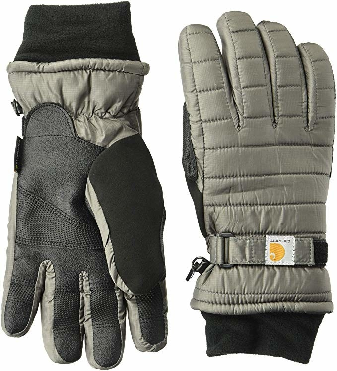 "Promising review: ""Due to the low price I was a bit leery of these gloves, but when I got them I was pleasantly surprised. I bought them for my 14-year-old daughter, they are a tad big on her but not uncomfortable. They don't fall off and she uses them most every day. They fit my hands pretty perfectly with lots of room to move. These gloves are thick, soft in the inside, and have a nice strap to tighten so snow won't get in. The best part is they are warm in cold weather, Wisconsin cold weather."" —Aryn AmberPrice: $20.47+ (available in four colors and four women's sizes)"