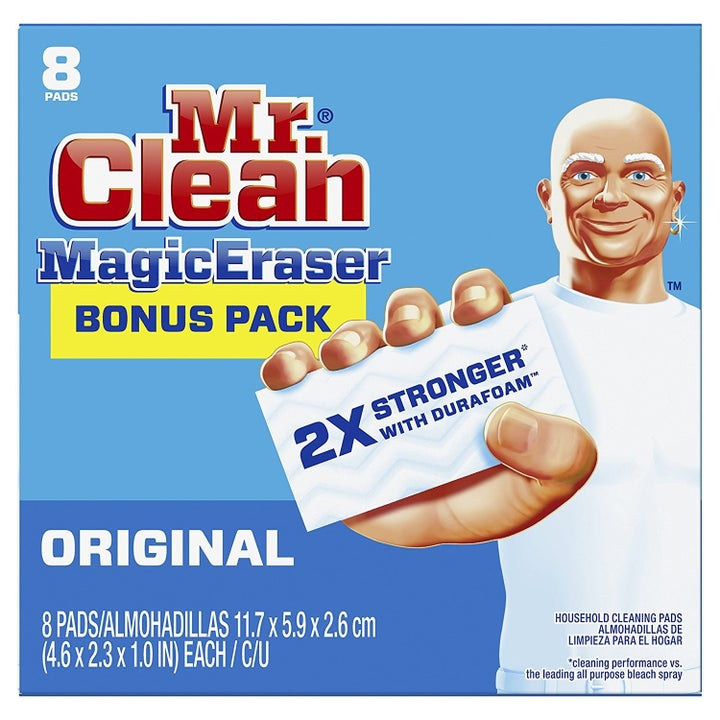 the mr. clean magic eraser packaging