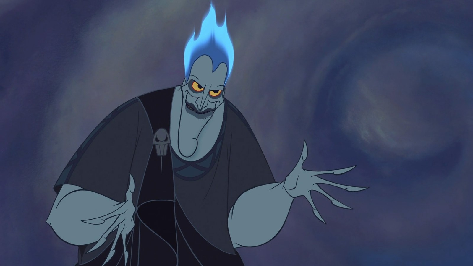 During the early stages of  Hercules , Jack Nicholson was  considered for the voice of Hades .