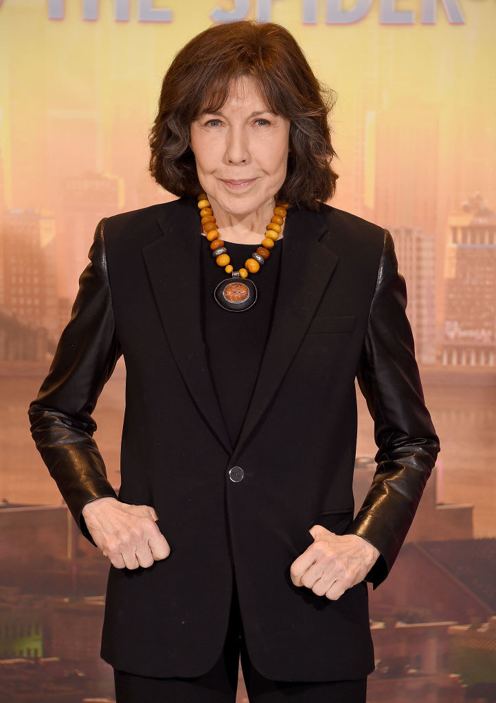 Lily Tomlin was  originally cast as the voice of Edna Mode in  The Incredibles — in fact, Brad Bird filled in for Tomlin during a read through and his Edna voice was so funny it just stuck.