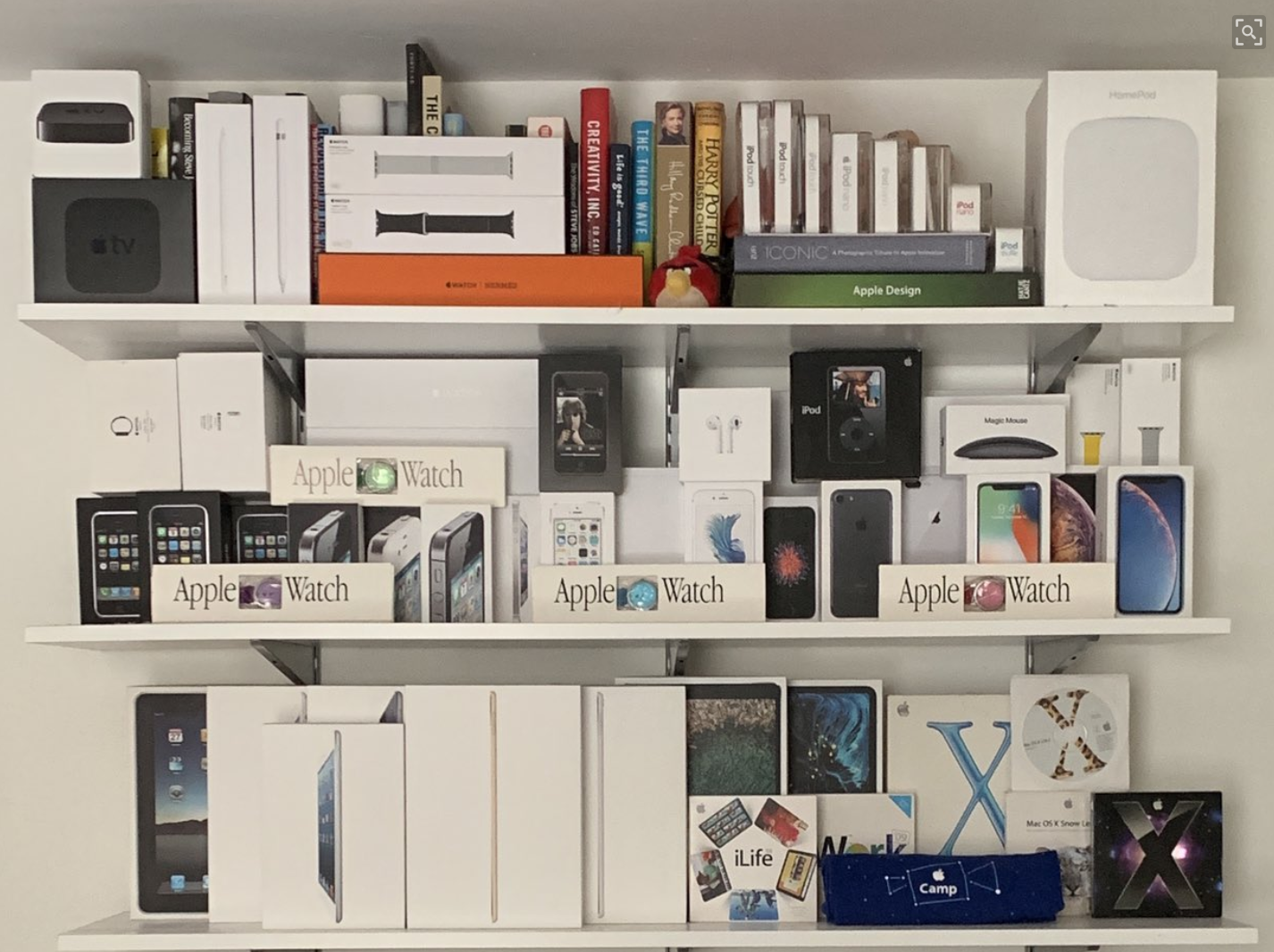 Do You Or Somebody You Know Suffer From KYAPBFTL (Keeping Your Apple Product Boxes For Too Long?)