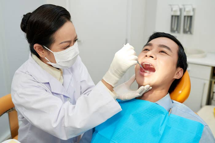 Dentists Explain Why They Talk To Patients When They Can't