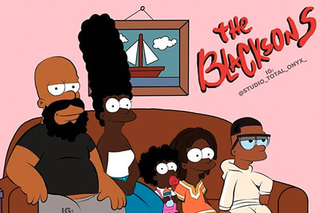 This Artist Has Reimagined Classic Cartoons With Black Characters And It's Everything