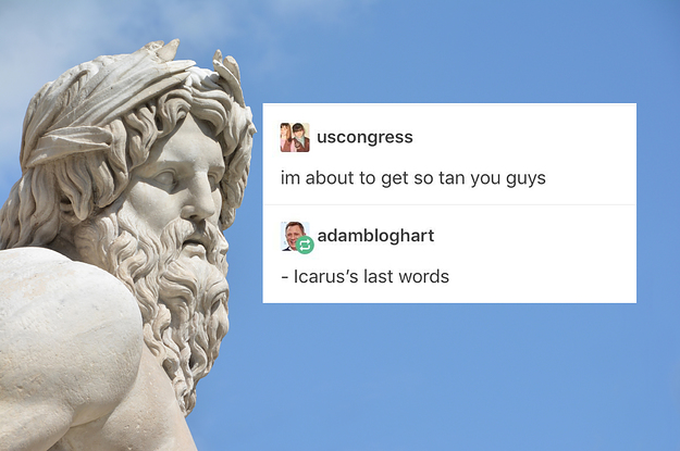 17 Jokes You'll Only Get If You Know Greek Mythology