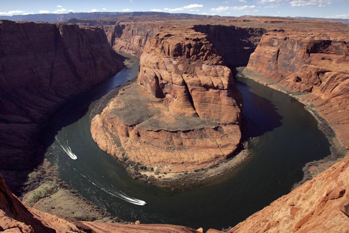 The Colorado River's Horseshoe Bend is seen in 2008.