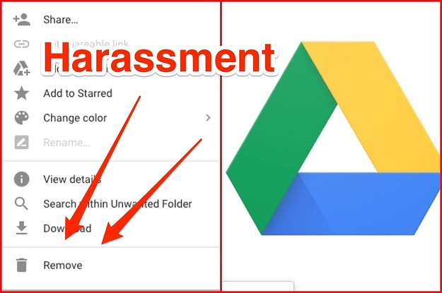 Google Drive Doesn't Allow Abuse Victims To Fully Remove