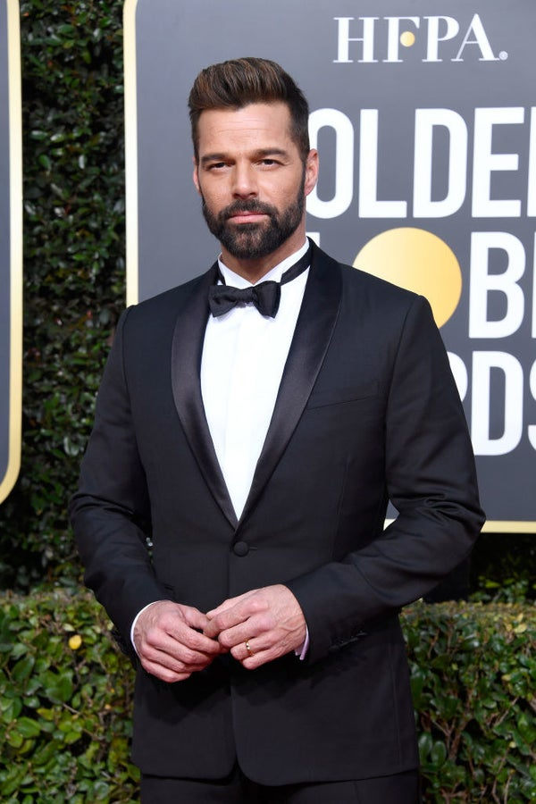 Ricky Martin wore Ricky Martin to the Golden Globes which means he is obviously the winner.