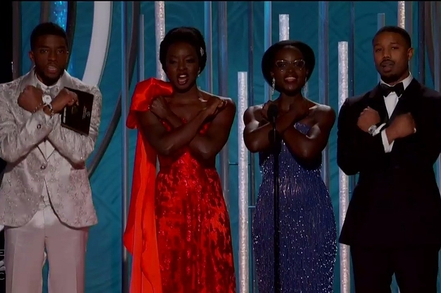 """""""Black Panther"""" Didn't Win A Single Award At The Golden Globes And Fans Are Disappointed"""