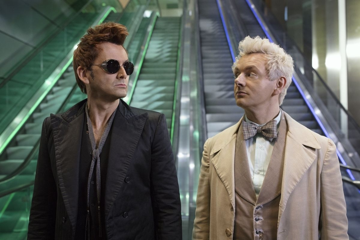 Good Omens follows the demon Crowley (Tennant) and the angel Aziraphale (Sheen) who, being accustomed to life on Earth, seek to prevent the coming of the antichrist and with it the final battle between Heaven and Hell.Premiere date TBD