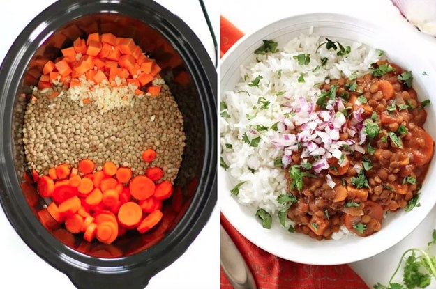 14 Slow Cooker Dinners For Anyone Trying To Eat Less Meat Or Dairy