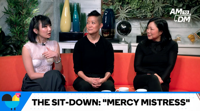 Poppy Liu (left) , Yin Q (middle), and Margaret Cho (right)