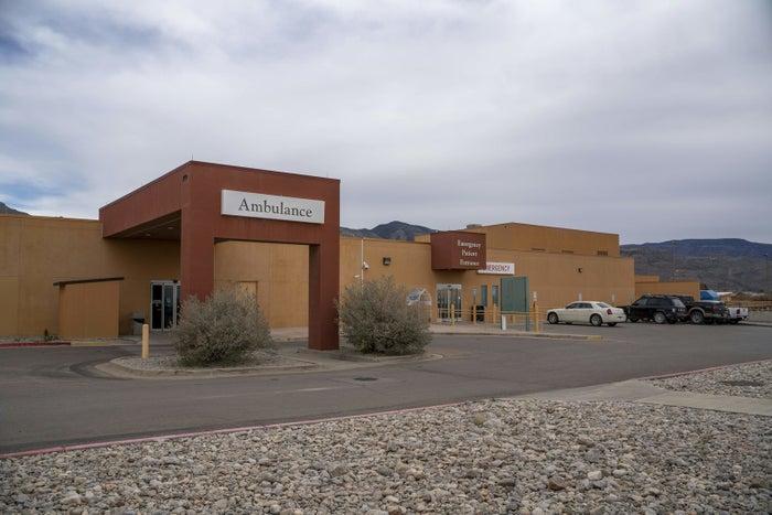 Gerald Champion Regional Medical Center in Alamogordo, where CBP reported the death of Felipe.