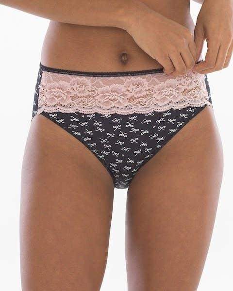 664aa15c6c2 Microfiber high-leg panties with an invisible fit to keep your panties in  place without those annoying panty lines.