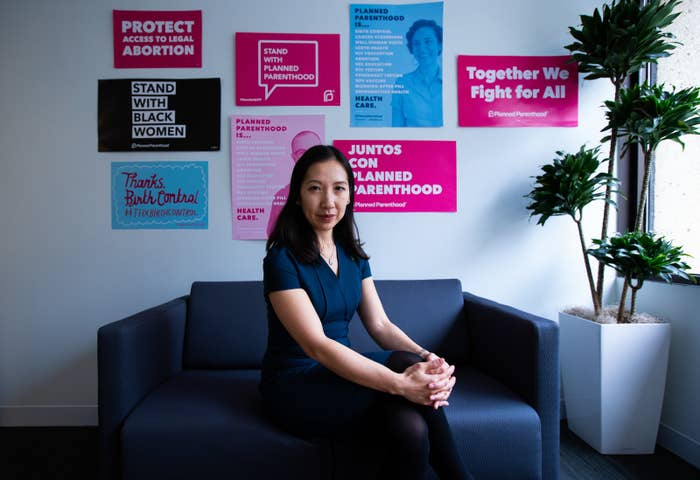 Dr. Leana Wen, president of the Planned Parenthood Federation of America, at the organization's office located in downtown Washington, DC.