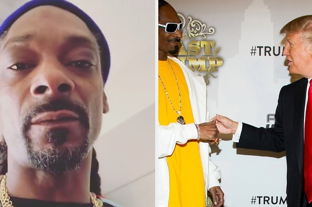 Snoop Dogg Had A Lot To Say About President Trump In Instagram Video, And Had Strong Words For His Supporters