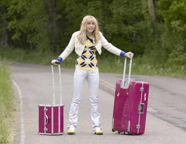 Sí, hace 10 años, Miley aún era Hannah Montana.