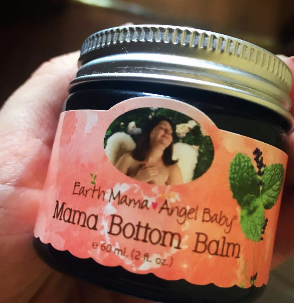 I would take a nice shower, use the peri bottle, apply the balm and a layer of Dermoplast. Pop some Tylenol and momma was ready for bed. Their nipple cream is way better than Lanolin, too!–Amy Russell, FacebookYou can find some on Amazon for $14.86.