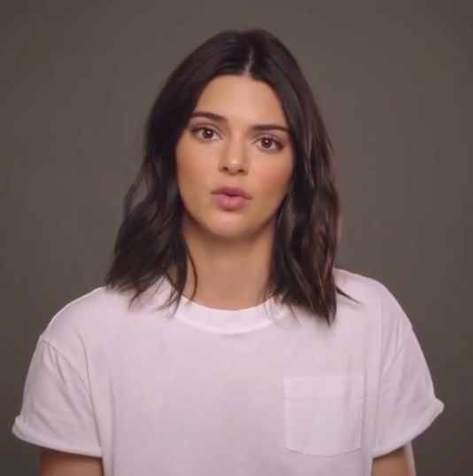 """In the clip, Kendall said: """"When I was 14 I couldn't reach as many people as I can now. Now that I'm 22 and I have this whole thing behind me, I can speak to so many people and be like: """"I can help you, and it's OK. I experience it, and I'm very normal. And I understand you. I can connect with you, and try and help."""""""