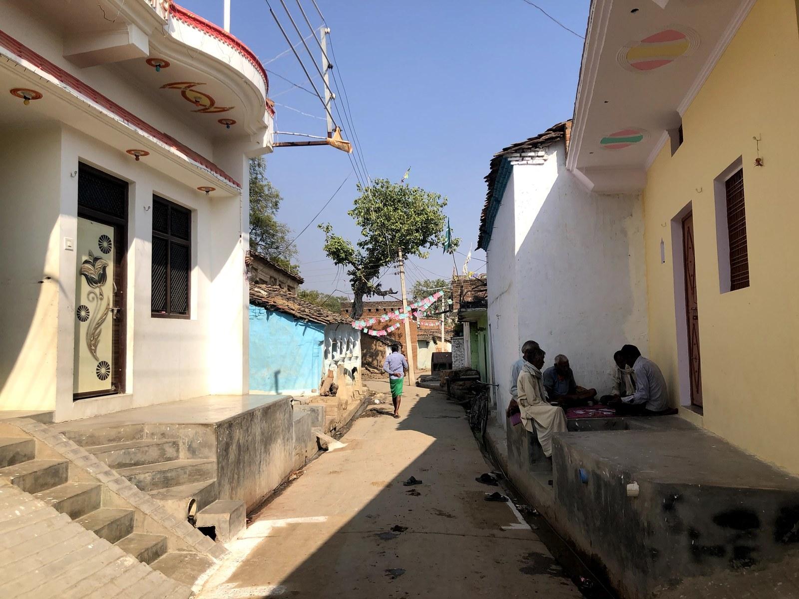 The village of Bara, Uttar Pradesh, India