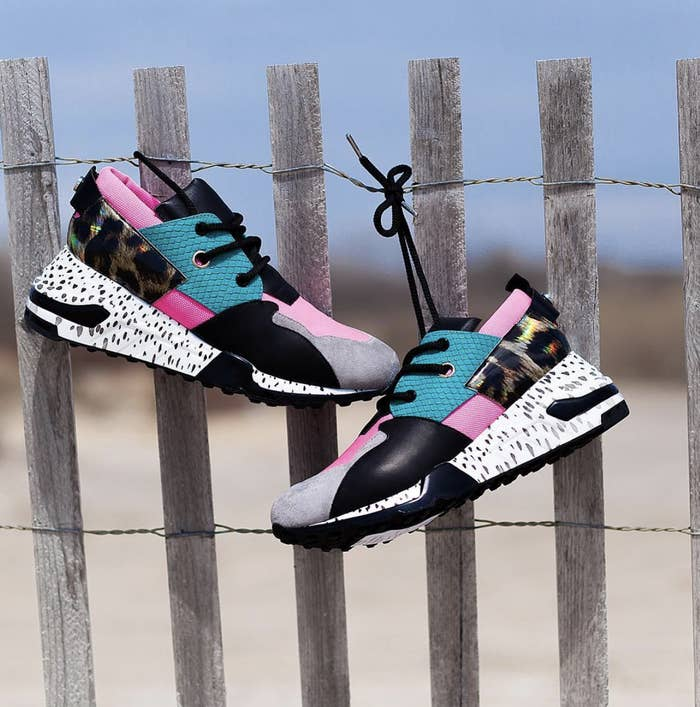 f624734a1c9d A pair of super-fun, vibrant sneakers with a '90s vibe that you won't even  need excuses to wear.