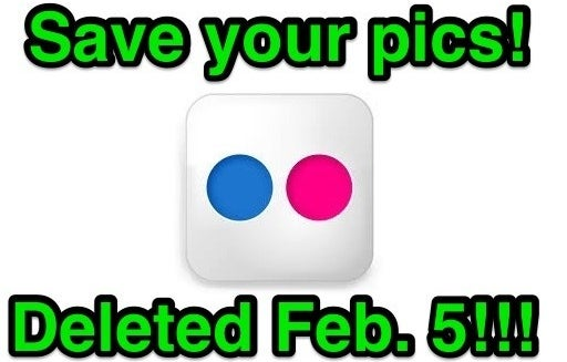 Flickr Is Deleting Your Photos Soon. Here's How To Save Them.