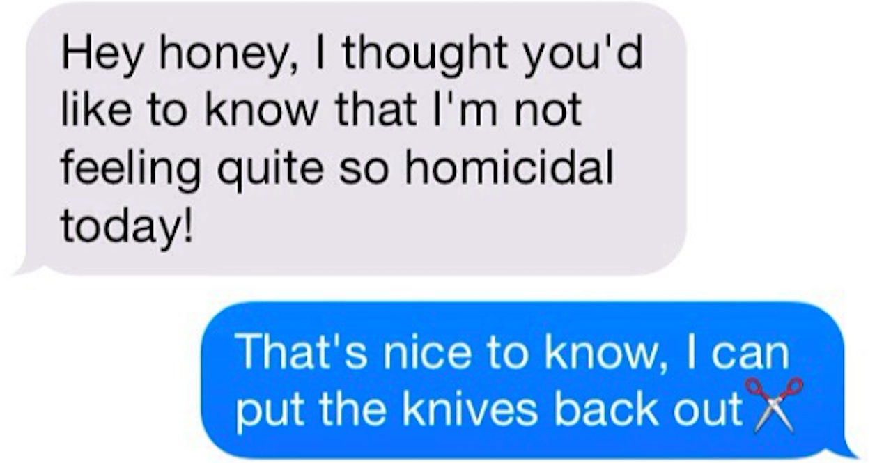 19 Wives Who Sent The Most Hilarious And Random Texts Ever
