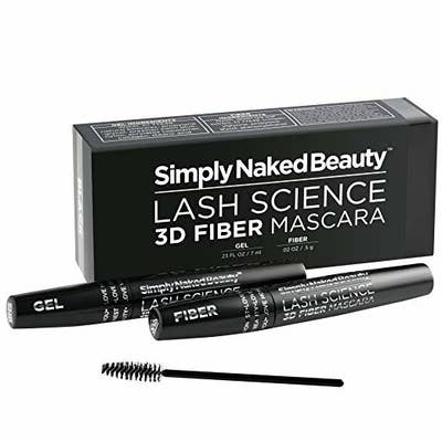 03d36f4a694 Simply Naked Beauty's 3D Fiber Lash Mascara coats your eyelashes with  super-tiny thickening fibers *and* a magnifying gel to achieve long, lush  lashes that ...