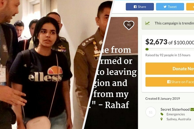 Rahaf Al-Qunun: GoFundMe Campaigns In Her Name Aren't Linked