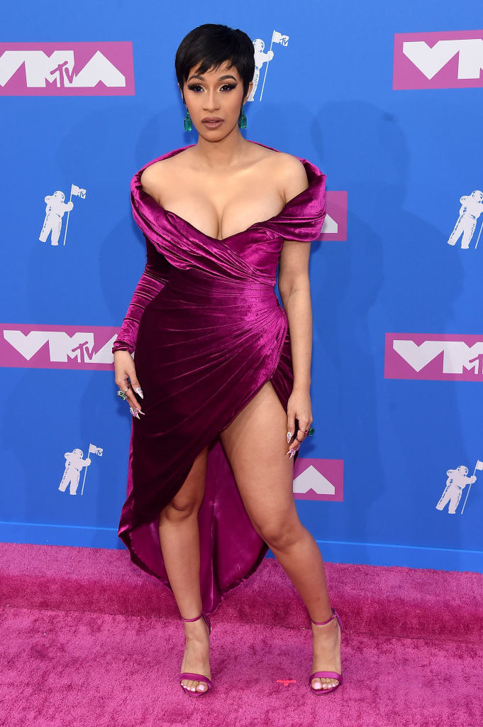 She took a cue from Kris Jenner and nearly went from Cardi to Kardi at the VMAs.