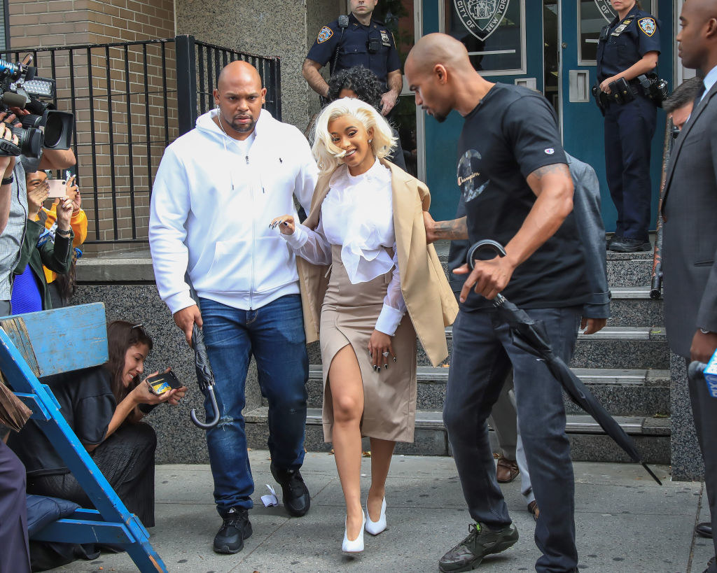 Hell, the girl even served us Marilyn Monroe realness while leaving a police station.