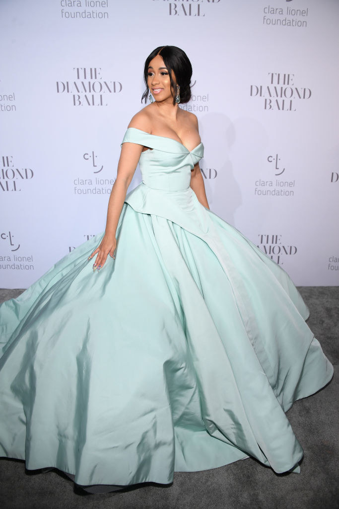 And also looked like a literal Disney princess in this gown for Rihanna's Diamond Ball.