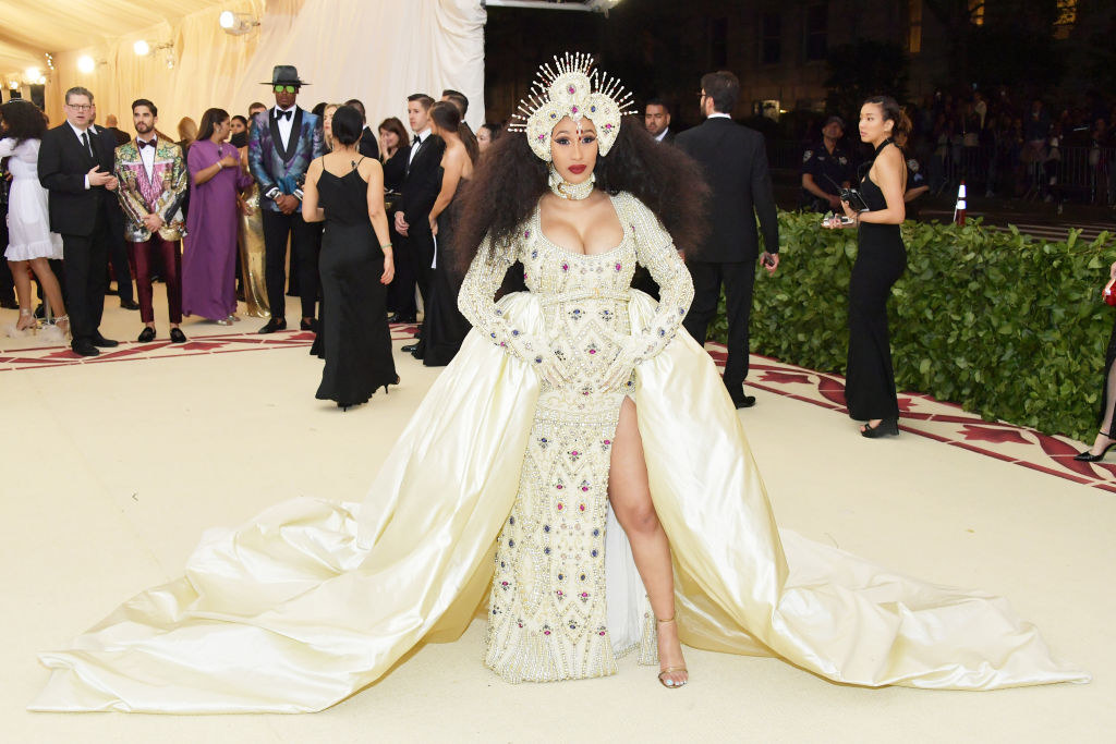 But of course, nothing made me feel more broke than seeing Saint Cardi decked out in jewels at the Met Gala.