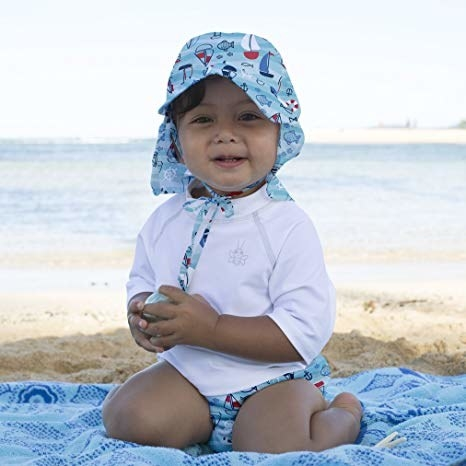TBH I think everyone should be using reusable swim diapers on their kids because they are so much better for our planet, but if you need some convincing let me tell you that they are awesome for traveling because you only need to pack one or two versus a million of the other ones. These diapers contain poop but let pee go through, so only stick your kids in them right before swimming or there will be accidents. Get it from Amazon for $10.29+ (available in 16 styles).