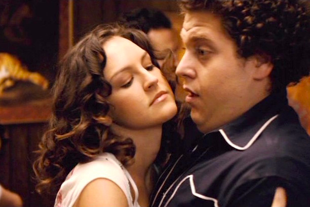 The period blood scene from Superbad was based on a real thing that happened to Seth Rogen's friend at a high school dance. -  And almost all the names in the movie are IRL people the writers went to high school with, down to the lead characters Seth (for Seth Rogen) and Evan (for Evan Goldberg).